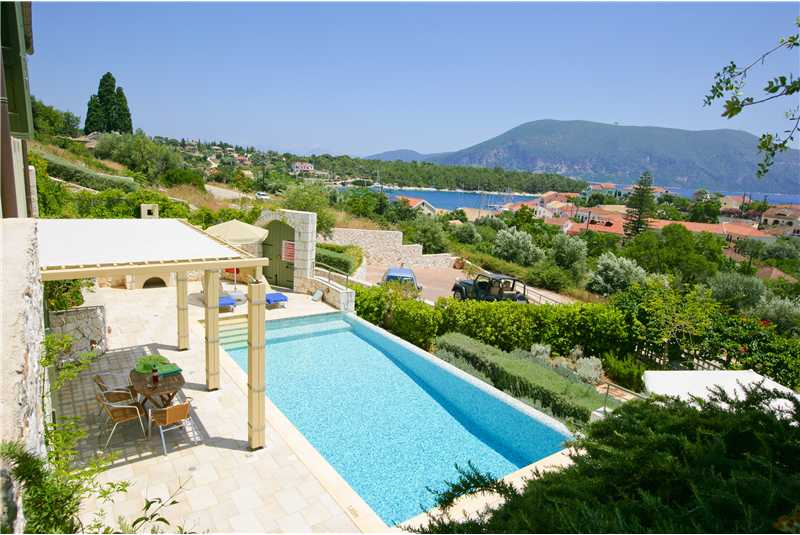 Villa Dentrolivano located close to Fiscardo harbour