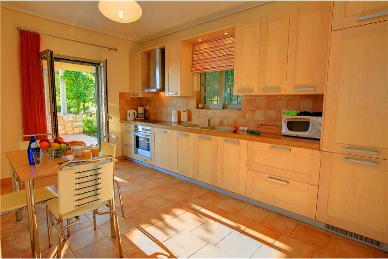 Villa Elina modern fully equipped kitchen