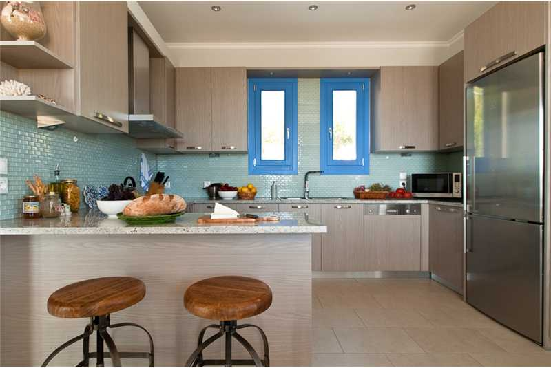 Villa Ersi fully equipped modern kitchen
