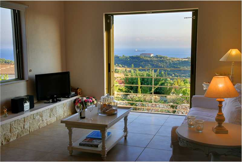 Villa Linatela lounge with breathtaking views over the Ionian sea.bmp