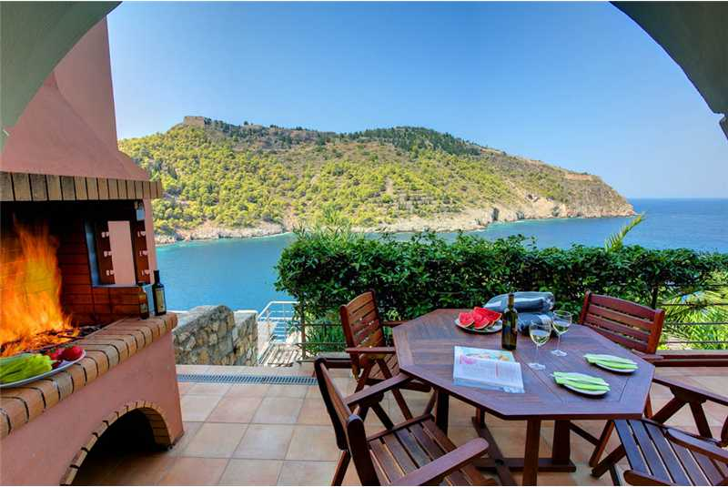 Villa Palatsina barbecue and breathtaking views